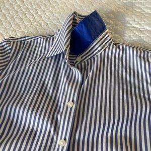 Banana Republic No-Iron Fitted Button Down Shirt
